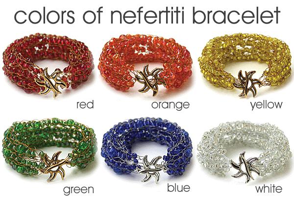 Colours of Nefertiti Bracelet