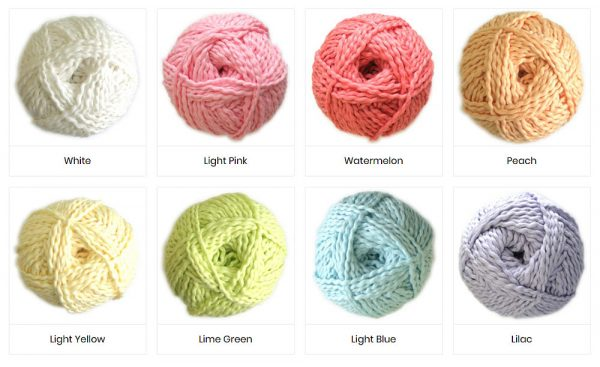 Colours of Wavy Yarn