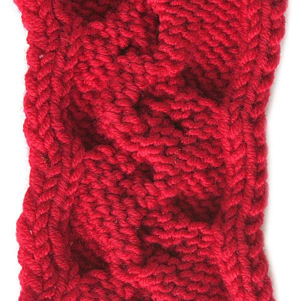 Cable Knitting Stitch Pattern
